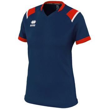 Odjeća Žene  Majice kratkih rukava Errea Maillot femme  lenny bleu/marine/blanc