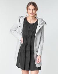 Odjeća Žene  Kaputi Moony Mood ADELINE Siva / Svijetla