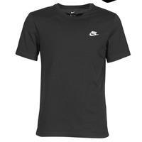 Odjeća Muškarci  Majice kratkih rukava Nike M NSW CLUB TEE Crna / Bijela