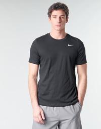 Odjeća Muškarci  Majice kratkih rukava Nike M NK DRY TEE DFC CREW SOLID Crna / Bijela
