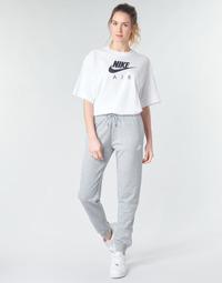 Odjeća Žene  Donji dio trenirke Nike W NSW ESSNTL PANT REG FLC Siva / Bijela