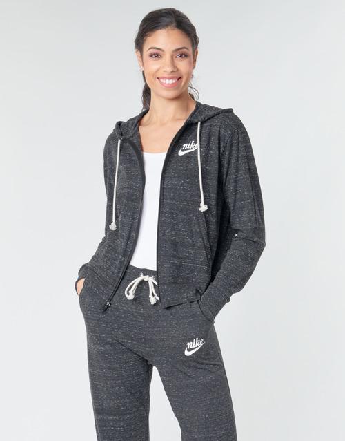 Odjeća Žene  Sportske majice Nike W NSW GYM VNTG HOODIE FZ Siva