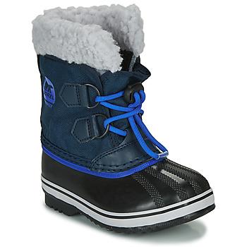 Obuća Djeca Čizme za snijeg Sorel CHILDRENS YOOT PAC NYLON Blue