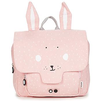 Torbe Djevojčica Školske torbe TRIXIE MISS RABBIT Ružičasta