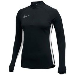 Odjeća Žene  Gornji dijelovi trenirke Nike Womens Dry Academy 19 Dril Top Crna