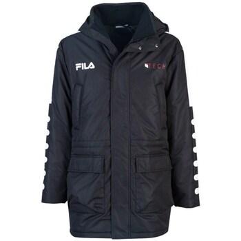 Odjeća Muškarci  Parke Fila Verlin Padded Jacket Crna