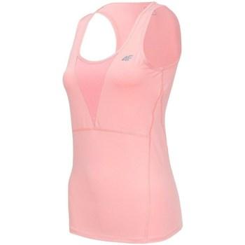 Odjeća Žene  Majice s naramenicama i majice bez rukava 4F TSDF001 Ružičasta