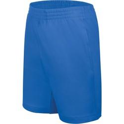 Odjeća Djeca Bermude i kratke hlače Proact Short enfant Jersey  Sport bleu marine