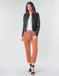 Odjeća Žene  Chino hlačei hlače mrkva kroja Vero Moda VMSVEA Ciglasta