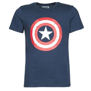 Odjeća Muškarci  Majice kratkih rukava Casual Attitude CAPTAIN AMERICA LOGO Blue