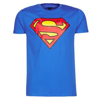 Odjeća Muškarci  Majice kratkih rukava Yurban SUPERMAN LOGO CLASSIC Blue