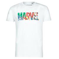 Odjeća Muškarci  Majice kratkih rukava Casual Attitude MARVEL HERO LOGO Bijela