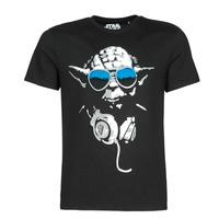 Odjeća Muškarci  Majice kratkih rukava Yurban DJ YODA COOL Crna