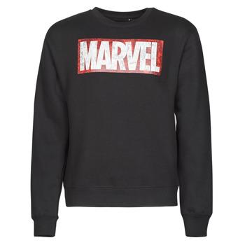 Odjeća Muškarci  Sportske majice Yurban MARVEL MAGAZINE CREW Crna
