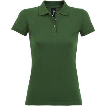 Odjeća Žene  Polo majice kratkih rukava Sols PERFECT COLORS WOMEN Verde