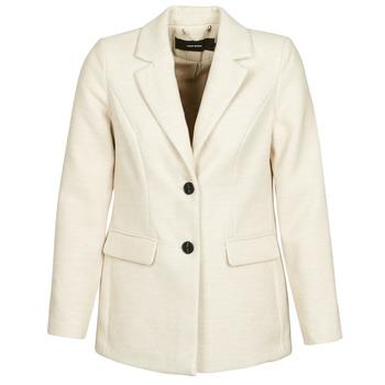 Odjeća Žene  Kaputi Vero Moda VMCALA Bijela