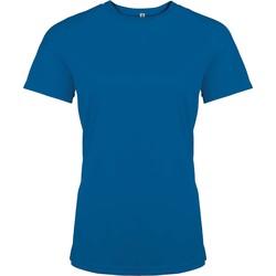 Odjeća Žene  Majice kratkih rukava Proact T-Shirt femme manches courtes  Sport bleu marine