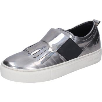 Obuća Žene  Slip-on cipele Crime London slip on pelle sintetica Argento