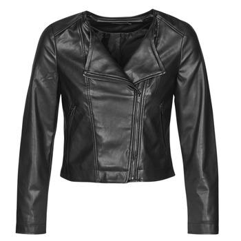 Odjeća Žene  Kožne i sintetičke jakne Only ONLDALY Crna