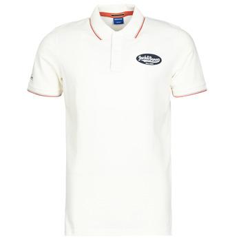 Odjeća Muškarci  Polo majice kratkih rukava Jack & Jones JORAYDON Bijela