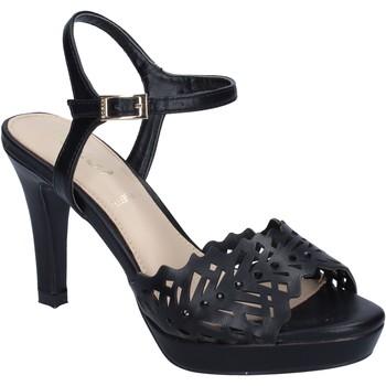 Obuća Žene  Sandale i polusandale Ikaros sandali pelle sintetica nero