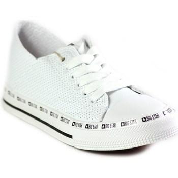Obuća Žene  Niske tenisice Big Star FF274024 Bijela
