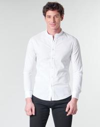 Odjeća Muškarci  Košulje dugih rukava Yurban MASS Bijela