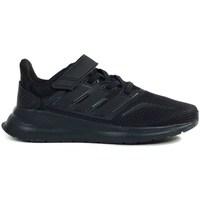 Obuća Djeca Running/Trail adidas Originals Runfalcon C Crna