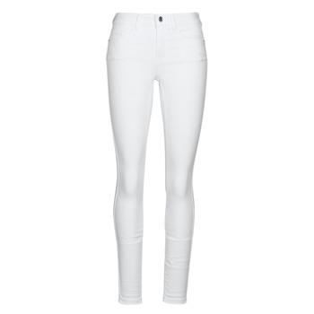 Odjeća Žene  Slim traperice Vero Moda VMSEVEN Bijela