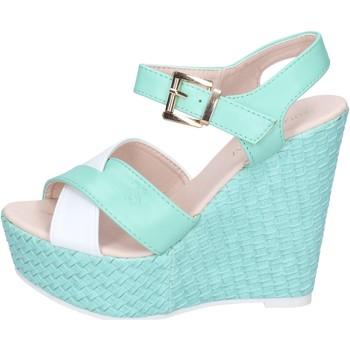Obuća Žene  Sandale i polusandale Solo Soprani sandali pelle sintetica Verde