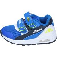 Obuća Dječak  Niske tenisice Ellesse sneakers tessuto pelle sintetica Blu