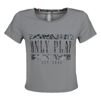 Odjeća Žene  Majice kratkih rukava Only Play  Siva