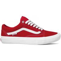 Obuća Muškarci  Obuća za skateboarding Vans Old skool pro Red