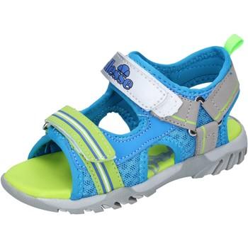 Obuća Dječak  Sandale i polusandale Ellesse sandali pelle sintetica tessuto Blu