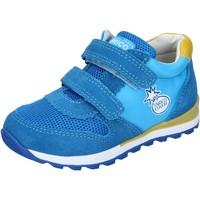 Obuća Dječak  Niske tenisice Enrico Coveri sneakers tessuto camoscio Blu