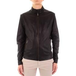 Odjeća Muškarci  Kožne i sintetičke jakne Yes Zee J516-JA00 Nero
