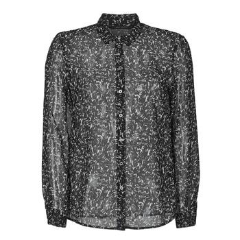 Odjeća Žene  Košulje i bluze Ikks BR12025 Crna