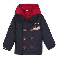 Odjeća Dječak  Kaputi 3 Pommes 3R41023-04 Blue