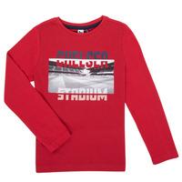 Odjeća Dječak  Majice dugih rukava 3 Pommes 3R10015-37-C Red