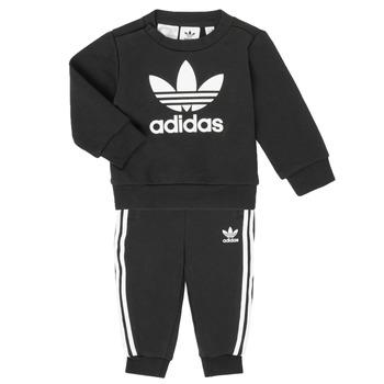 Odjeća Djeca Dječji kompleti adidas Originals CREW SET Crna
