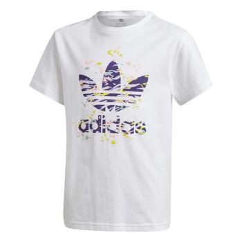 Odjeća Djevojčica Majice kratkih rukava adidas Originals TREF TEE Bijela
