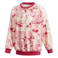 Odjeća Djevojčica Sportske majice adidas Originals CREW Ružičasta