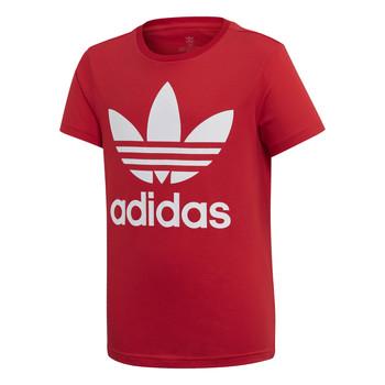 Odjeća Djeca Majice kratkih rukava adidas Originals TREFOIL TEE Red
