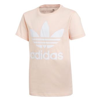 Odjeća Djevojčica Majice kratkih rukava adidas Originals TREFOIL TEE Ružičasta