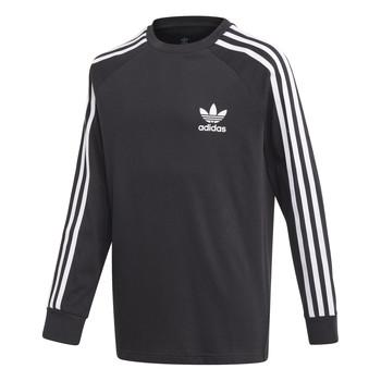 Odjeća Djeca Majice dugih rukava adidas Originals 3STRIPES LS Crna
