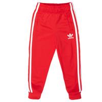 Odjeća Djeca Donji dio trenirke adidas Originals SST TRACKPANT Red