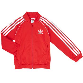 Odjeća Dječak  Gornji dijelovi trenirke adidas Originals SST TRACKTOP Red