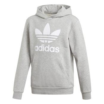 Odjeća Dječak  Sportske majice adidas Originals TREFOIL HOODIE Siva
