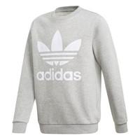 Odjeća Dječak  Sportske majice adidas Originals TREFOIL CREW Siva