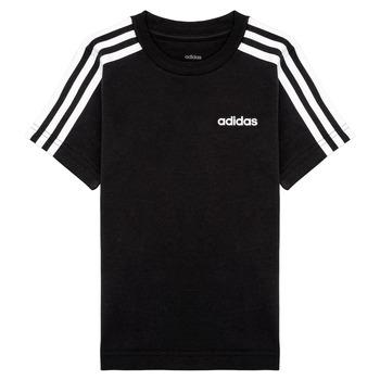 Odjeća Dječak  Majice kratkih rukava adidas Performance YB E 3S TEE Crna